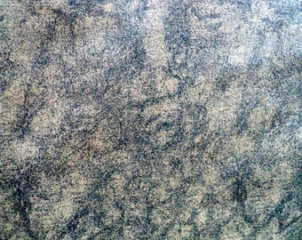"""Brown and Black Cotton Suede Pattern Fabric - 35"""" long x 56"""" wide"""
