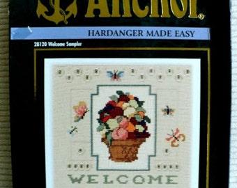 """Welcome Sampler - Hardanger Kit - 7"""" x 7"""""""