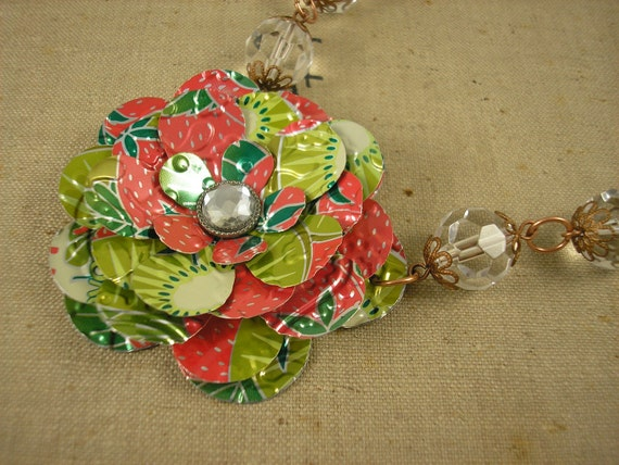 how to make recycled soda can art