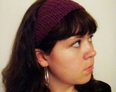 Hannah's Headband - Crochet PATTERN - Wide Textured Spring and Summer Headband