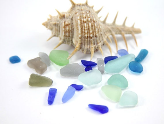Tiny Sea Glass Undrilled Mini Beach Glass Different Shapes and Colors Rare for Collection or Mosaic DIY Jewelry Supplies