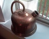 Vintage Portugese Copper Teapot