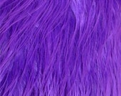 Purple Shaggy Mongolian Faux Fur Craft Size