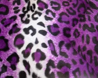 Purple Leopard Animal Print