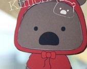 Printable Paper Doll - Kimchi Bear (1001)