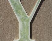 Wooden Decorative Letter Y