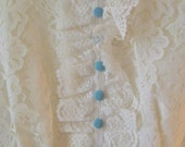 bonnie blue lace vintage babydoll dress