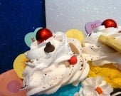 Fake Banana Split Faux Banana Split Ice Cream Sundae Food Prop Photo Prop Fake Food Display