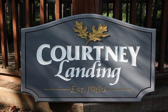 Custom Apartment Sign