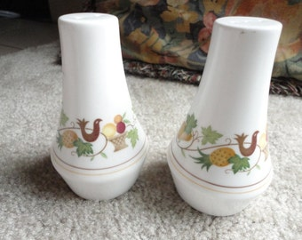 Vintage Noritake Salt and Pepper Shakers, Homecoming Design