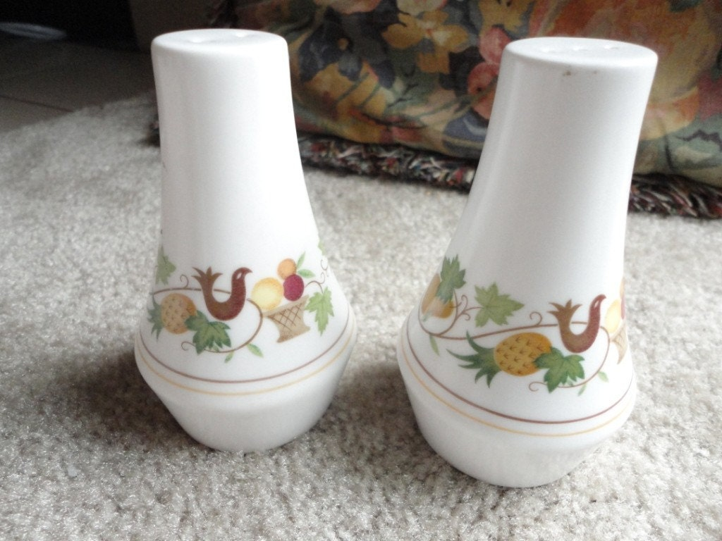 Vintage Noritake Salt And Pepper Shakers Homecoming Design