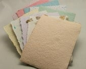 Handmade Recycled Paper - SCRAP PACK - Colorful Mix 1