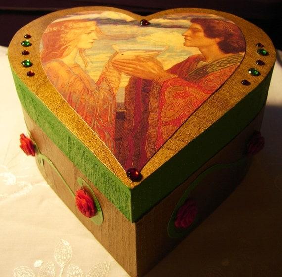 Tristan and Isolde (Mythology Legend Germanic Love Heart)
