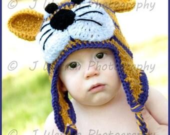 LSU Tiger Hat