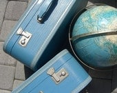 RESERVED - Vintage 1950's Vacationer Royal Suitcase