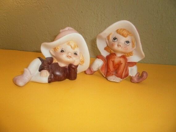 Two Sweet Little Elf Pixies