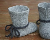 Felted Slippers for children Unisex         Absolutely Eco