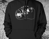 SLR Camera Sweat Shirt Pullover Hoodie