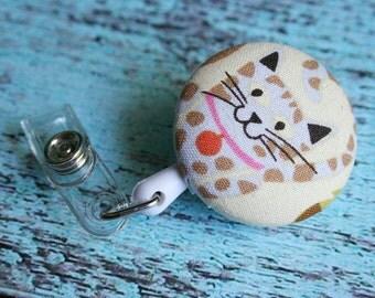Retractable Badge / ID  Holder Reel - Alley Cat