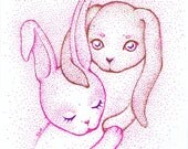 Bunny Love - Original Art