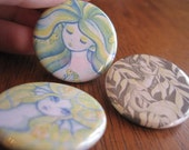 Mermaid Button Set