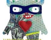 Monster Print   DJ Monster Chill