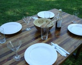 Wood Table Wood Dining Table Reclaimed Wood Dining Table Rustic Wood Table Farm Table