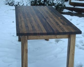 Farmhouse Table Wood Harvest Table Wood Dining Table