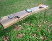Solid Walnut Slab Live Edge Table