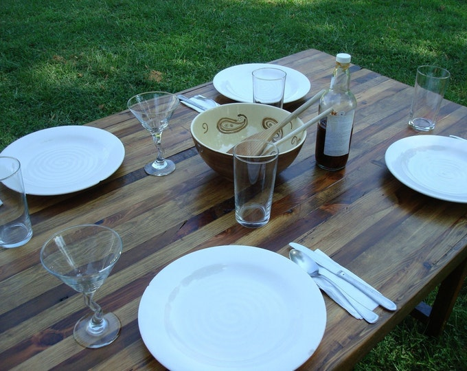 Reclaimed Wood Dining Table Rustic Wood Dining Table Farmhouse Table