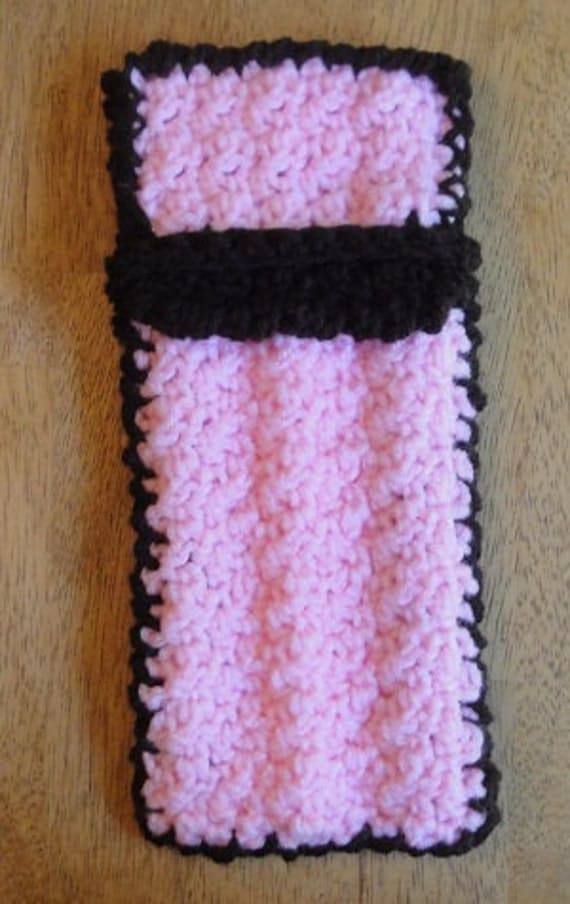 Reserved Pink Pouch - 3 Glass Straw - BONUS if purchase from ManyMinis