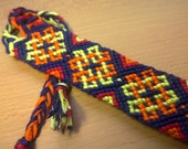 Friendship Bracelet, Celtic Knot, Macrame Bracelet. Made to order.