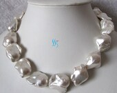 Custom listing for Anthony - 4 pearl necklaces and 2 pairs pearl earrings - Free shipping
