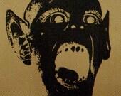The Infamous Bat Boy - Tan Canvas Patch