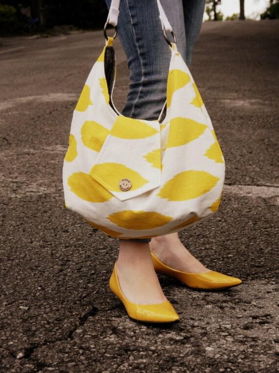 Custom large slouchy bag