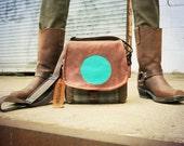 Small Leather Pro Camera Bag DSLR