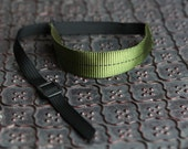New Color - Olive Green and Black DSLR Wrist Strap Camera Strap