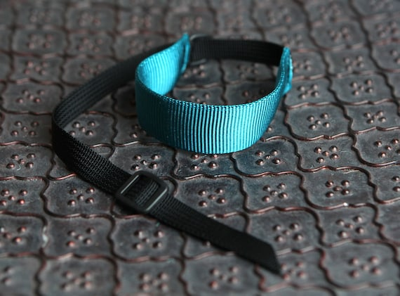 New Color - Teal and Black DSLR Wrist Strap Camera Strap