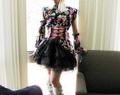 Lolita Kimono - Midnight Bloom