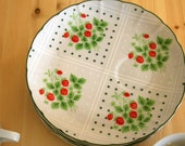 Reserved for Gabarouse- Vintage Eight Piece Swiss Strawberry Dot Set