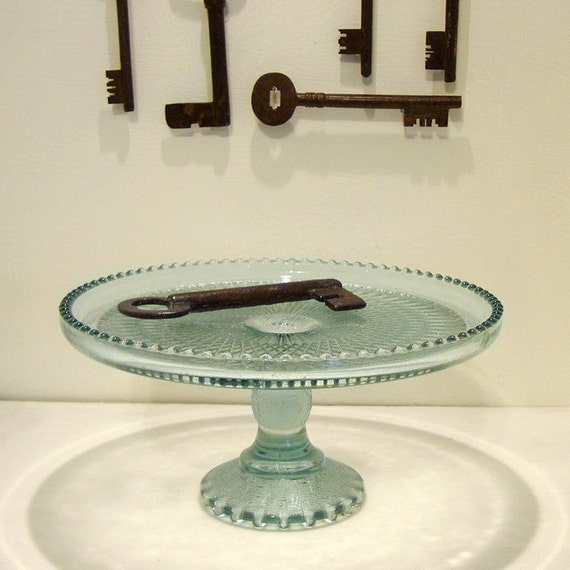 Antique Pedestal Cake Stand