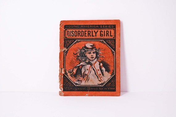 Disorderly Girl softcover book 1880s