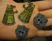 Cyberman Earrings