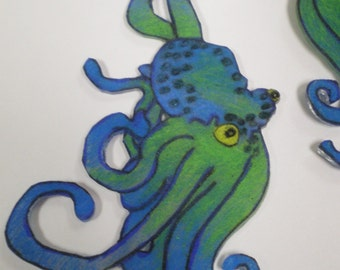 OctoAwesome Earrings