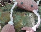 SALE - Crab - Mr. Pinchy (Pink)