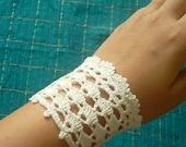 PDF Pattern-- Crochet Cuff in Shell
