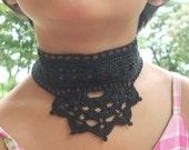 PDF Pattern for Crochet Choker Necklace