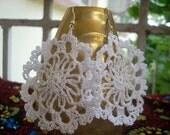 Crochet Round Earring PDF Pattern