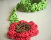 Crochet Pattern for Spring Scarf