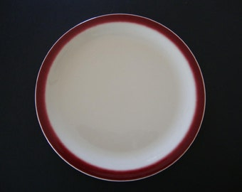 Reduced-Buffalo China Restaurant Plate-Restaurant ware Salesman Sample Marked-JUST REDUCED